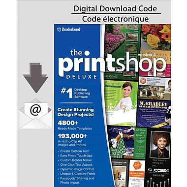 Encore Print Shop 4.0 Deluxe, PC [Download]