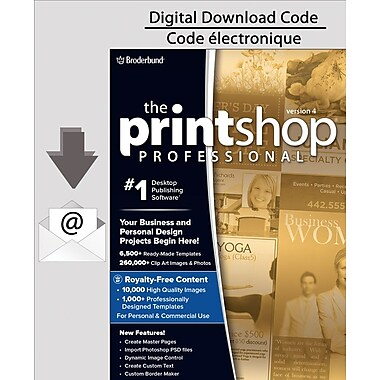 Encore Print Shop 4.0 Professional, PC [Download]