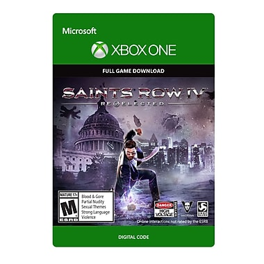 Deep Silver – Saints Row IV : Re-Elected, Xbox One [Téléchargement]