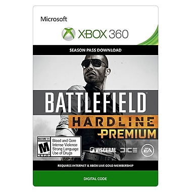 Electronic Arts Battlefield Hardline Premium, Xbox 360 [Download]