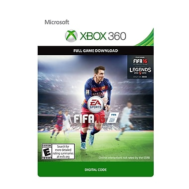 Electronic Arts FIFA 16 Standard Edition, Xbox 360 [Download]