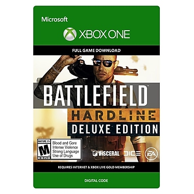 Electronic Arts Battlefield Hardline Deluxe, Xbox One [Download]