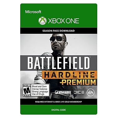 Electronic Arts – Battlefield Hardline Premium, Xbox One [Téléchargement]