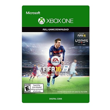 Electronic Arts FIFA 16 Standard Edition, Xbox One [Download]