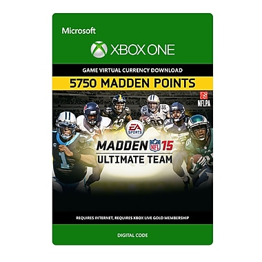 Electronic Arts Madden NFL 15: 5,750 Points, Xbox One [Download]