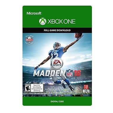 Electronic Arts Madden NFL 16, Xbox One [Download]
