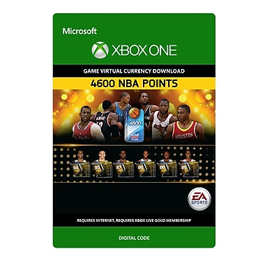 Electronic Arts NBA Live 15: 4,600 NBA Points, Xbox One [Download]