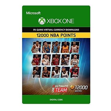 Electronic Arts – NBA Live 16 LUT 12 000 NBA points Pack, Xbox One [Téléchargement]