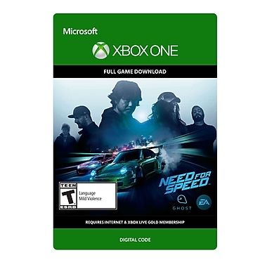 Electronic Arts Need For Speed Standard Edition, Xbox One [Download]