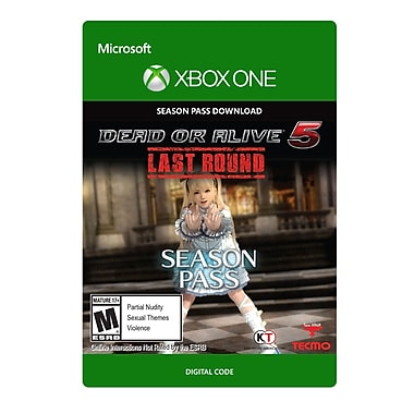 Tecmo Koei – Dead or Alive 5 Last Round New Costume Pass 1, Xbox One [Téléchargement]