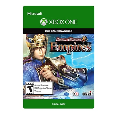 Koei Tecmo Dynasty Warriors 8 Empires, Xbox One [Download]