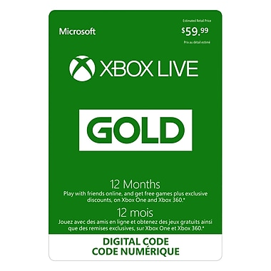Xbox Live Gold Membership [Download]