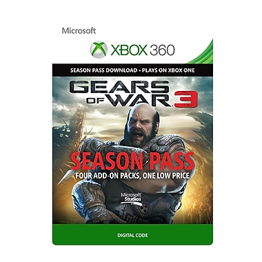 Microsoft Studios Gears of War 3: Season Pass, Xbox 360 [Download]