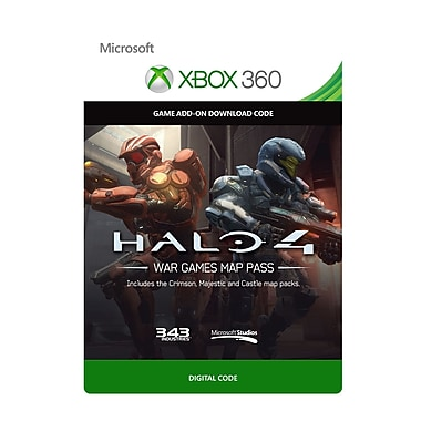 Microsoft Studios – Halo 4 : War Games Map Pass, Xbox 360 [Téléchargement]