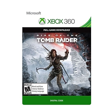Microsoft Studios Rise of the Tomb Raider, Xbox 360 [Download]