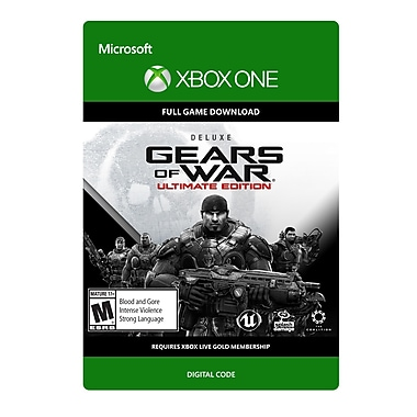 Microsoft Studios – Gears of War : édition Ultimate version deluxe, Xbox One [Téléchargement]