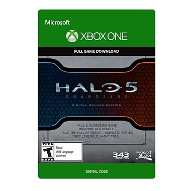 Microsoft Studios Halo 5 Guardians Digital Deluxe Edition, Xbox One [Download]