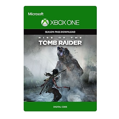 Microsoft Studios – Rise of the Tomb Raider passe de saison, Xbox One [Téléchargement]