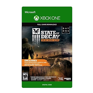 Microsoft Studios – State of Decay : Year-One Survival Edition, Xbox One [Téléchargement]