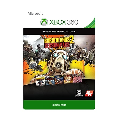 Take-Two Borderlands 2 Season Pass, Xbox 360 [Download]