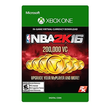Take-Two NBA 2K16 200,000 VC, Xbox One [Download]