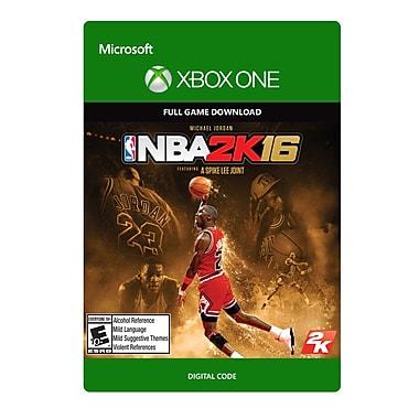 Take-Two – NBA 2K16 édition spéciale Michael Jordan, Xbox One [Téléchargement]
