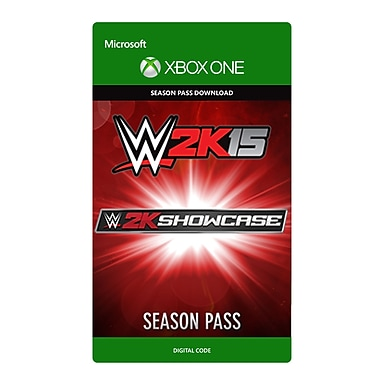 Take-Two – WWE 2K15 Showcase passe de saison, Xbox One [Téléchargement]