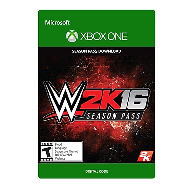 Take-Two – WWE 2K16 passe de saison – Xbox One [Téléchargement]