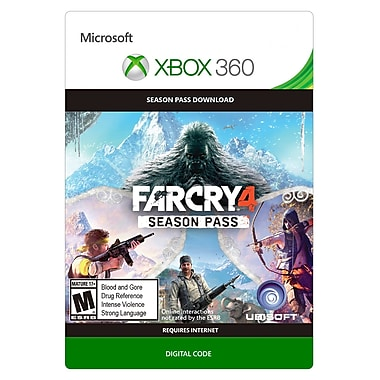 Ubisoft Far Cry 4 - Season Pass, Xbox 360 [Download]