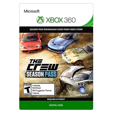 Ubisoft The Crew - Season Pass, Xbox 360 [Download]
