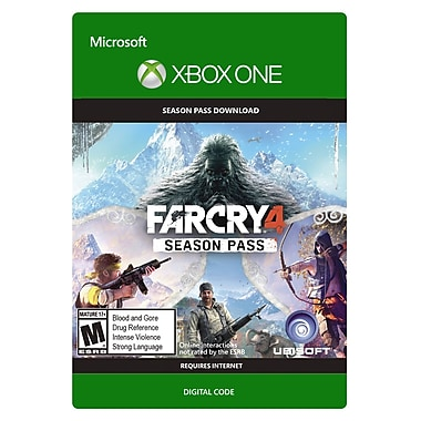 Ubisoft Far Cry 4 - Season Pass, Xbox One [Download]