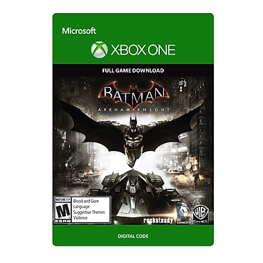 Warner Bros – Batman Arkham Knight, Xbox One [Téléchargement]