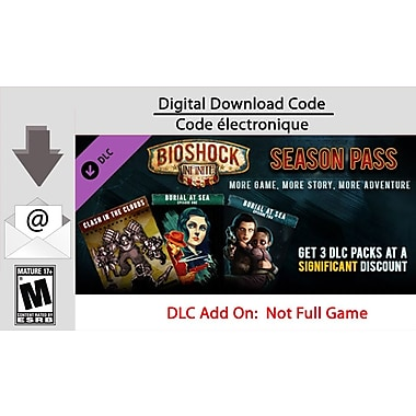 2K BioShock Infinite Season Pass, PC [Download]