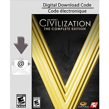2K – Sid Meier's Civilization V : The Complete Edition, PC [Téléchargement]