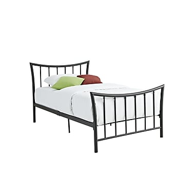 DHP Bali Metal Bed, Twin, Bronze