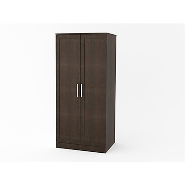 Dorel 2-Door Wardrobe, Espresso