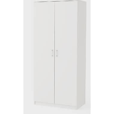 Dorel – Armoire de rangement 72 x 30 po, blanc