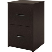 Dorel 2-Drawer File Cabinet, Black Forest