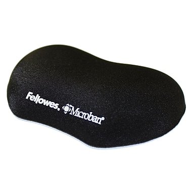 Fellowes® – Mini repose-poignet PlushTouch avec technologie FoamFusion, noir, (9355801)