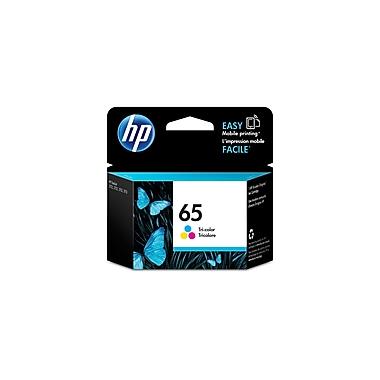 HP 65 Tri-Colour Original Ink Cartridge (N9K01AN)