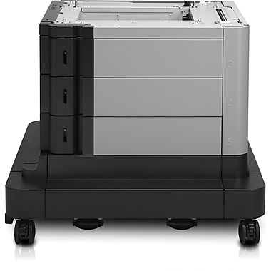 HP LaserJet High-Capacity Input Feeder with Stand, 1500-Sheet, (B3M75A)