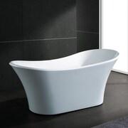 AKDY 70.9'' x 31.5'' Soaking Bathtub