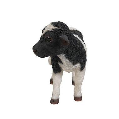 Hi-Line Gift Ltd. Black and White Standing Cow Statue