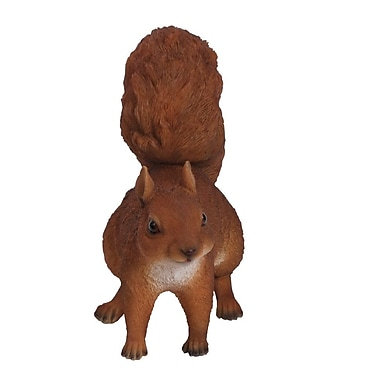 Hi-Line Gift Ltd. Red Squirrel Hopping Statue