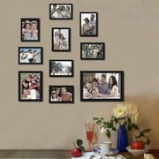 AdecoTrading 10 Piece Collage Picture Frame Set