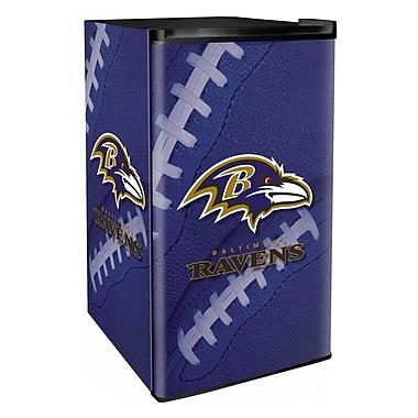 Boelter Brands NFL 3.2 cu. ft. Compact Refrigerator w/ Freezer; Ravens