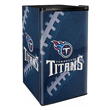 Boelter Brands NFL 3.2 cu. ft. Compact Refrigerator w/ Freezer; Titans