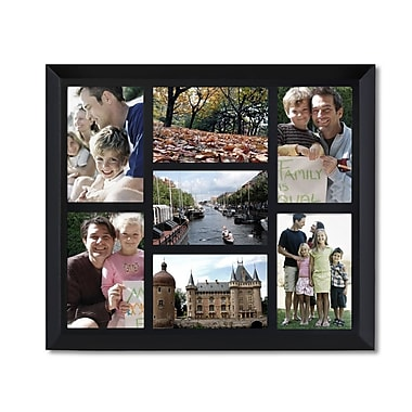 AdecoTrading 7 Opening Decorative Wall Hanging Collage Picture Frame