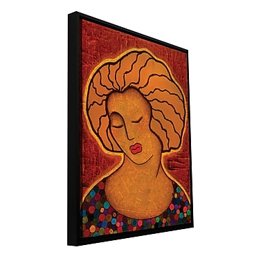 ArtWall 'Alignment' by Gloria Rothrock Framed Painting Print on Wrapped Canvas; 32'' H x 24'' W