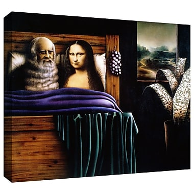 ArtWall 'Leo and Mona' by Graham Dean Graphic Art on Wrapped Canvas; 14'' H x 18'' W x 2'' D